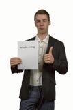 Anställningsavtal 6 Arkivbild