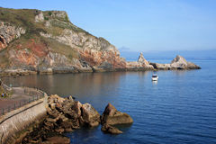 Anstey's cove, Torquay Royalty Free Stock Photos
