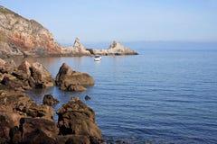 Anstey zatoczka, Torquay fotografia stock