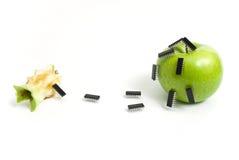 Anstieg der Roboter stockfotografie