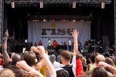 Anstieg-Festival, London. Juli 2008. Lizenzfreies Stockbild