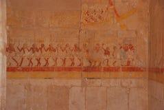 Anstrich im ägyptischen Tempel stockfotografie