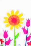 Anstrichblume Stockbild