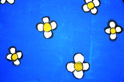 Anstrichblumen. Lizenzfreie Stockbilder