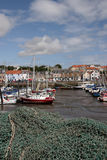 Anstruther Harbour. Anstruther  is a small town in Fife, Scotland Royalty Free Stock Image