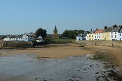 Anstruther Seafront Stock Photography
