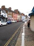 Anstruther w piszczałce, Szkocja obrazy royalty free