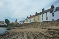 Anstruther Waterfront Royalty Free Stock Photos