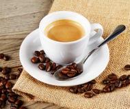 Anstrykning av kaffe arkivbild