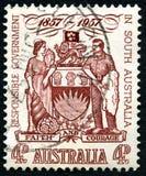 Ansvarig regering i den södra Australien stämpeln Royaltyfri Foto