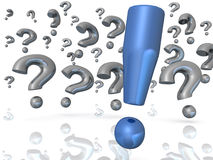 The answer Royalty Free Stock Image