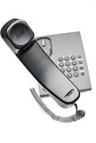 Answer. The telephone tube of black color is in a mode of the answer royalty free stock photography