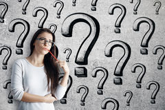 Answer concept stock images