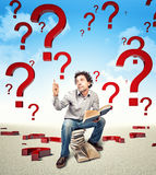 Answer Royalty Free Stock Photo