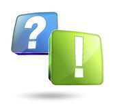 Answer Stock Photography