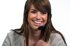 Answering the Phone Stock Photos