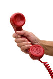 Answering the Telephone Stock Photos
