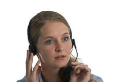 Answering your Call Royalty Free Stock Image