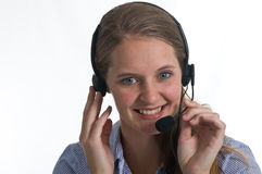 Answering Your Call Royalty Free Stock Photography