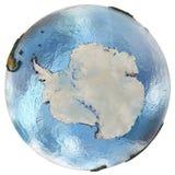 A Antártica na terra Imagem de Stock