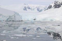 A Antártica - paisagem Imagem de Stock
