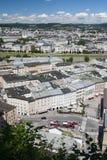 Antón-Neumayr-platz Salzburg Fotos de archivo libres de regalías