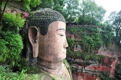 Ant Buddha dans Leshan, Sichuan, Chine image stock