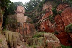 Ant Buddha i Leshan, Sichuan, Kina Royaltyfri Foto