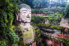 Ant Buddha in Leshan, Sichuan, China royalty-vrije stock foto's