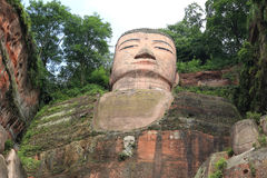 Ant Buddha in Leshan, Sichuan, China Stock Images