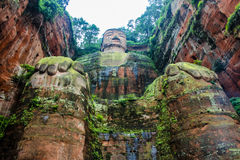 Ant Buddha in Leshan, Sichuan, China Stock Photos