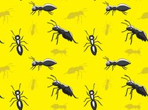 Ant Cartoon Wallpaper Stock Foto's