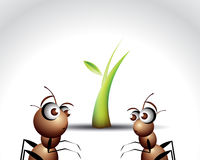 Ant Character Stock Photography