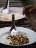 Ant Egg Food rojo Fotos de archivo libres de regalías