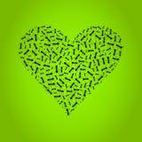 Ant heart Stock Photos