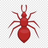 Ant icon, cartoon style. Ant icon. Cartoon illustration of ant vector icon for web stock illustration
