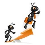 Ant Idea Royalty Free Stock Photo
