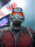 Ant Man in Ani-Com & Games Hong Kong 2015. 1:1 scale antman display in Ani-Com & Games Hong Kong 2015 royalty free stock photo