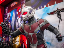 Ant Man in Captain America 3 Royalty Free Stock Photos