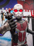 Ant Man in Captain America 3 Royalty Free Stock Photo