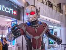 Ant Man in Captain America 3 Royalty Free Stock Images