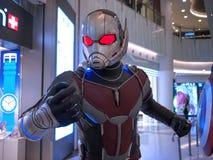 Ant Man in Kapitein America 3 Royalty-vrije Stock Afbeelding