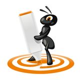 Ant Target Royalty Free Stock Photos