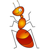 Ant vector illustration Royalty Free Stock Photography