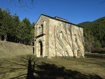 Anta María de Iguacel (Huesca) Stock Photography