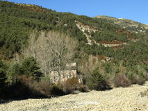 Anta María de Iguacel (Huesca) Royalty Free Stock Images