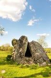 Anta vom Steinzeitalter in Alentejo-Dolmen stockbild