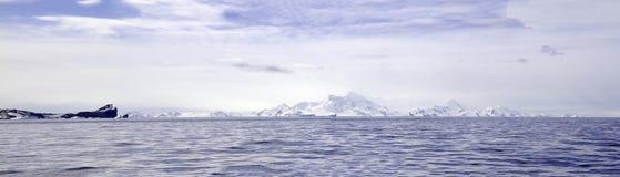 Antactic krajobraz Obrazy Royalty Free