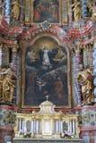Antagande av den jungfruliga Maryen royaltyfria foton