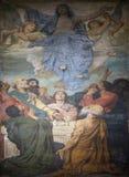 Antagande av den jungfruliga Maryen royaltyfria bilder